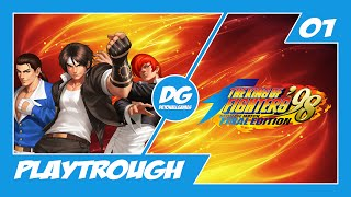 The King of Fighters 98 Ultimate Match Final Edition - Pré análise + Gameplay