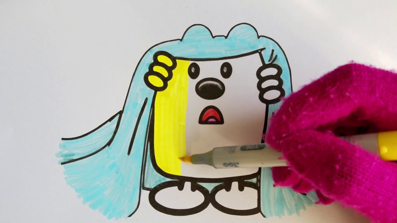 Wow Wow Wubbzy coloring picture (With images)   Coloring books ...   720x1280