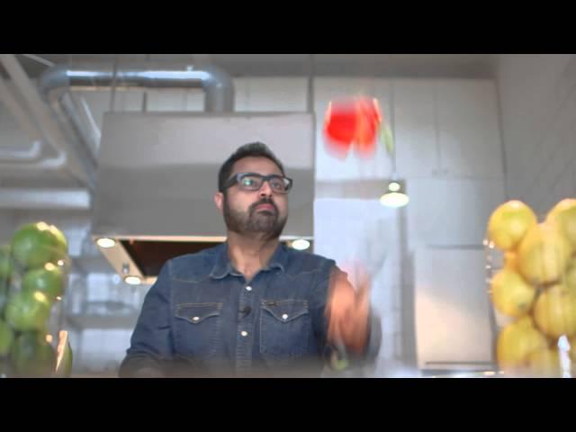 Gottsunda Matfestival 2015, Amir Kheirmand, teaser 1