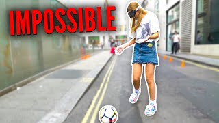 IMPOSSIBLE PUBLIC FOOTBALL CHALLENGE