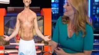 Busty Newsreader Sarah Jane Mee Feeling Horny After Seeing Gary Lineker In His Pants