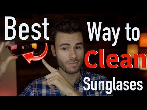 The Best Way to Clean your Sunglasses