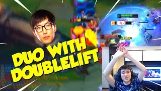 Pobelter - DUO WITH DOUBLELIFT | CARRYING KOREAN SOLO QUEUE