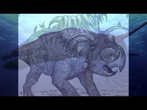 Dinosaurs kosmoceratopsian names
