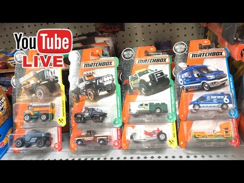 New Matchbox Cars Toys LIVE Unboxing   Saturday Morning  March 18 2017  Toy Cars for Kids