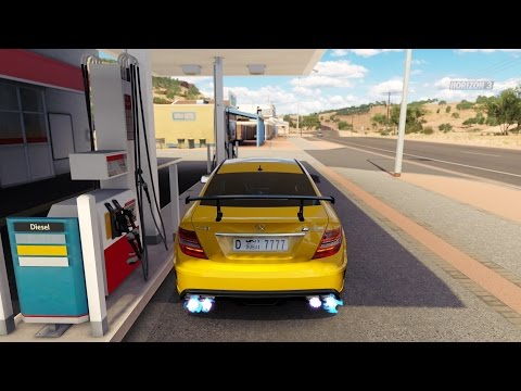 Forza Horizon 3 Mercedes-Benz C63 AMG Black Series Gameplay HD 1080p