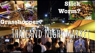 Thailand Night Market | What can you find on Night Market | Follow Mike In Thailand