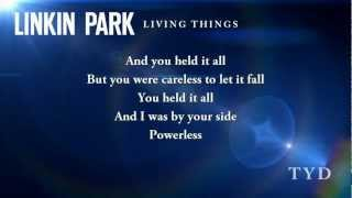 Linkin Park - Powerless (Abraham Lincoln: Vampire Hunter Soundtrack 2012 - Lyric Video)