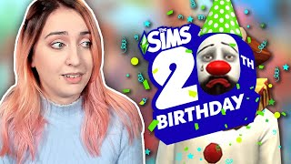 The Sims 20th Anniversary was a big fat flop