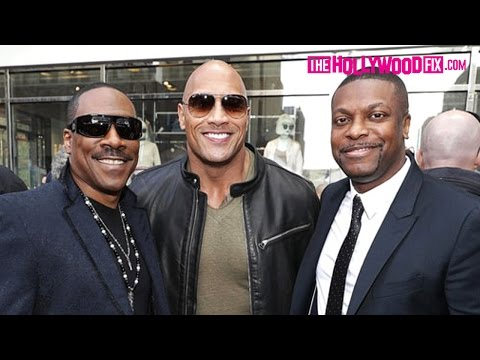 Eddie Murphy, Dwayne Johnson, Chris Tucker & More Attend Brett Ratner's Walk Of Fame Ceremony