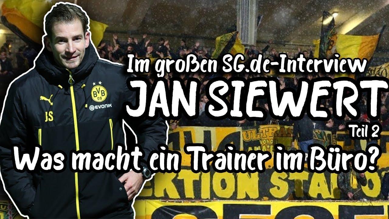 BVB U23-Trainer Jan Siewert im Exklusivinterview mit schwatzgelb.de [Teil 2/3]