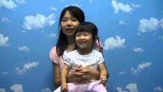 2歳のあやかちゃんが「キラキラ星」をドレミで歌えるようになりました。