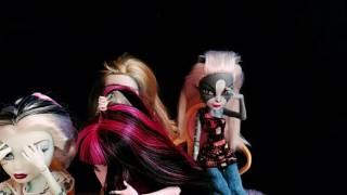 """Пародия на танец Торалей и девочек из мульт."""" Большой Кошмарный Риф""""   Монстер Хай   стоп моушен"""