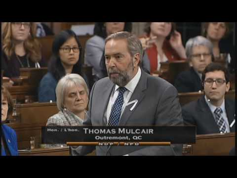 Thomas Mulcair Statement Dec 6 2016 Pixelles
