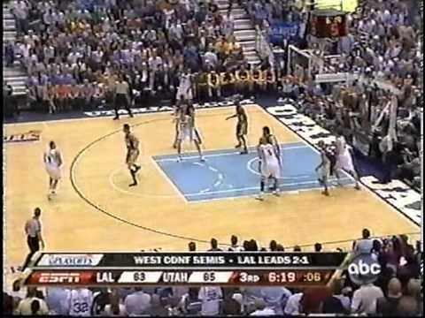 Deron Williams 29pts&14ast vs Lakers - Conf Semis - Game 4 - 5/11/2008 (Highlights)