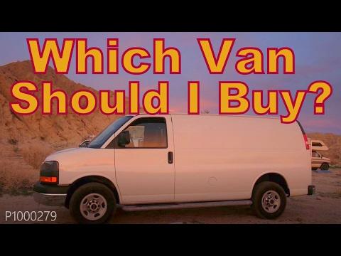 Which Van Should I Buy?