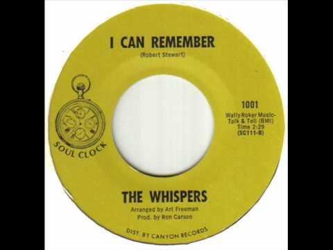 The Whispers - I Can Remember.wmv
