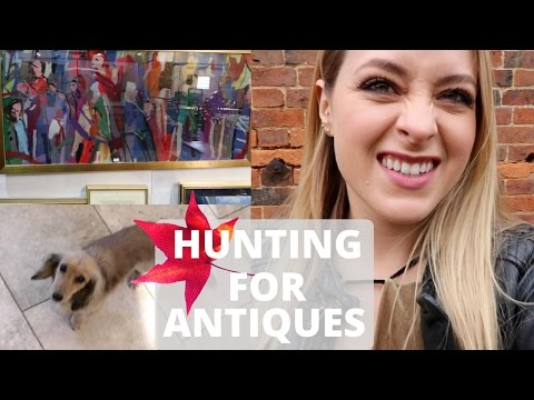 HUNTING FOR ANTIQUES! Vlogtober 24 & 25