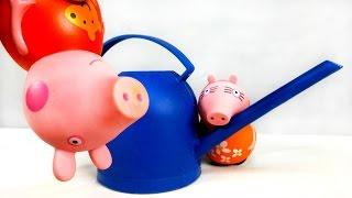 Развитие ребенка. Свинка Пеппа и охрана окружающей среды. Обучающие видео(Обучающие видео для развития ребенка. Свинка Пеппа и Мама Свинка, гуляя по парку, заметили одно очень грустн..., 2016-03-25T08:13:09.000Z)