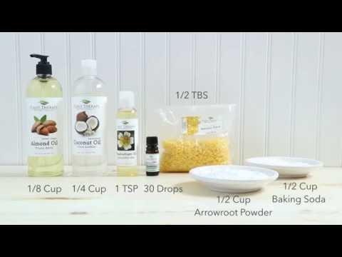 DIY Deodorant - Using Essential Oils!