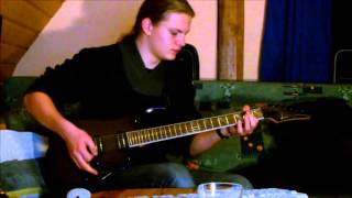 ManOwaR - Black List Guitar Cover + Solo (HD)