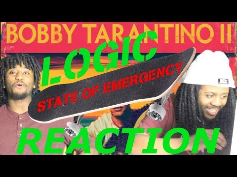 Logic State of Emergency ft 2chainz  Skaters reaction