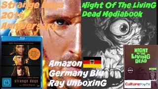 UNBOXING STRANGE DAYS/ NIGHT OF THE LIVING DEAD AMAZON GERMANY