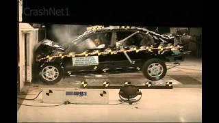 2001 Honda Civic Frontal Crash Test by NHTSA | CrashNet1