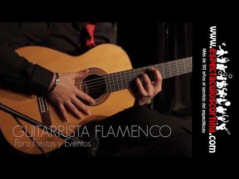 Guitarrista Flamenco Barcelona Para Eventos