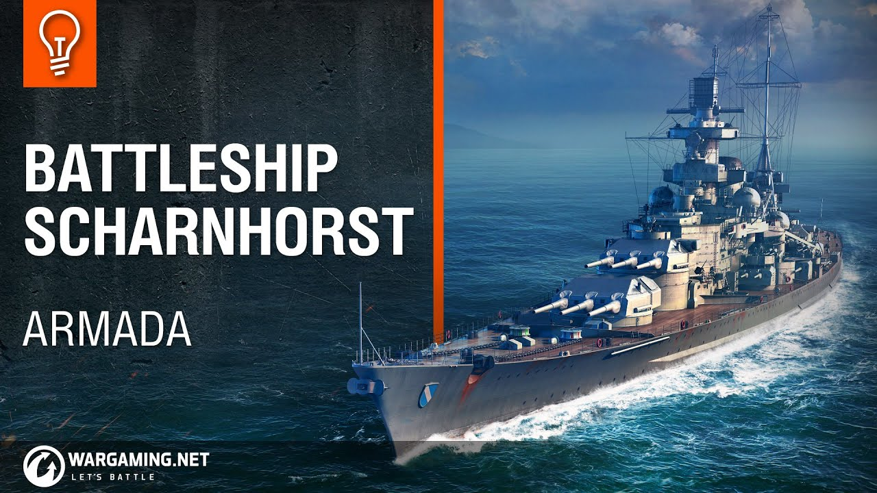 Scharnhorst - Global wiki  Wargaming net
