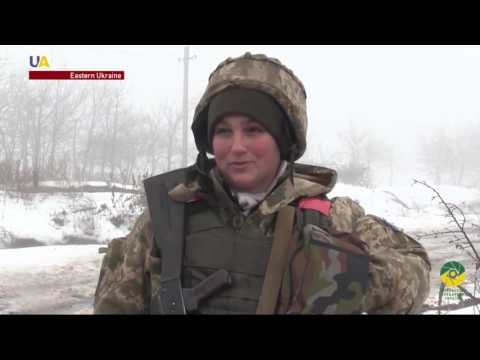 Meet One of the Female Soldiers Fighting in Eastern Ukraine
