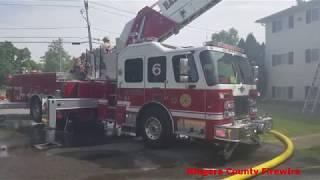 6/16/18 14:56 Video 6219 Tonawanda Creek Rd. Apamtment Complex Fire