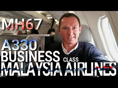 A330 MALAYSIA AIRLINES BUSINESS CLASS SEOUL TO KUALA LUMPUR