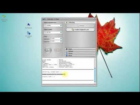 ZTE MF180 Unlock tutorial - YouTube