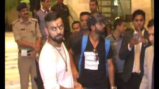 Virat Kohli cuts cake specially customised for India's '500th Test' in Kanpur