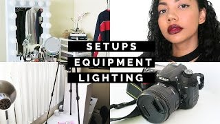 HOW I FILM MY YOUTUBE VIDEOS - Tips for Starting a Channel!