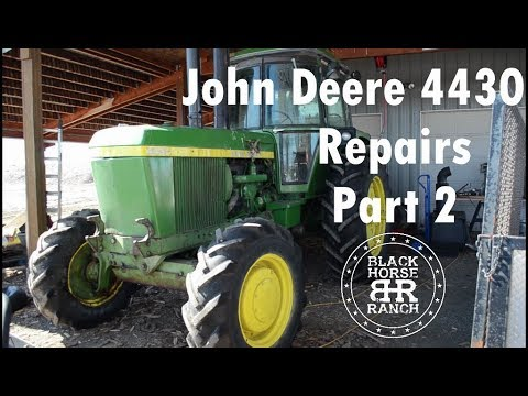 John Deere 4430 Repairs - Part 2 Rockshaft Housing Removal