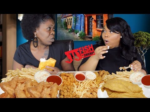 JJ's Fish And Chicken Mukbang: Fried Chicken Fridays?
