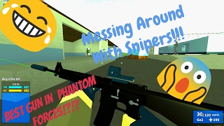 | Roblox| Phantom Forces| Messing Around with Snipers!