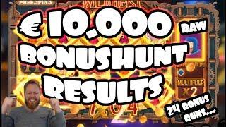€10.000 Bonushunt RESULTS! [24 bonuses]