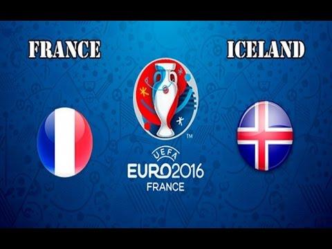 FRANCE - ICELAND EURO 2016