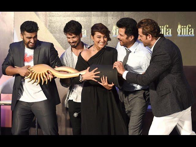 IIFA Weekend 2015 Announcement : Anil Kapoor, Hrithik Roshan, Shahid, Sonakshi, Arjun