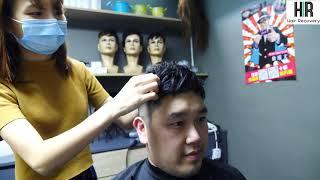 【Hair Recovery復原法】香港假髮專門店-不需剃頭髮的固定方式介紹!!