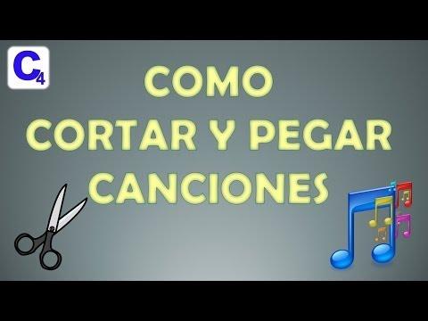 Como cortar y Pegar Canciones, Audio, Mp3 - Fácil