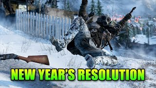 Battlefield 5 New Year's Resolution   Gameplay With Operator Drewski
