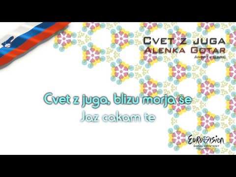 """Alenka Gotar - """"Cvet Z Juga"""" (Slovenia) - [Karaoke version]"""