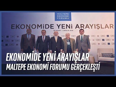 """Maltepe Ekonomi Forumu'nda """"Dünya'da ve Türkiye'de Kentleşme"""" Konuşuldu"""