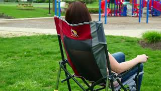 GCI Outdoor Road Trip PRO Rocker Chair with Carrying Bag on QVC