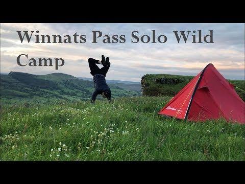 Hollins Cross, Mam Tor And Winnats Pass | Solo Wild Camp #5