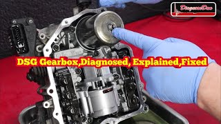 DSG Gearbox Diagnosed explained Fixed